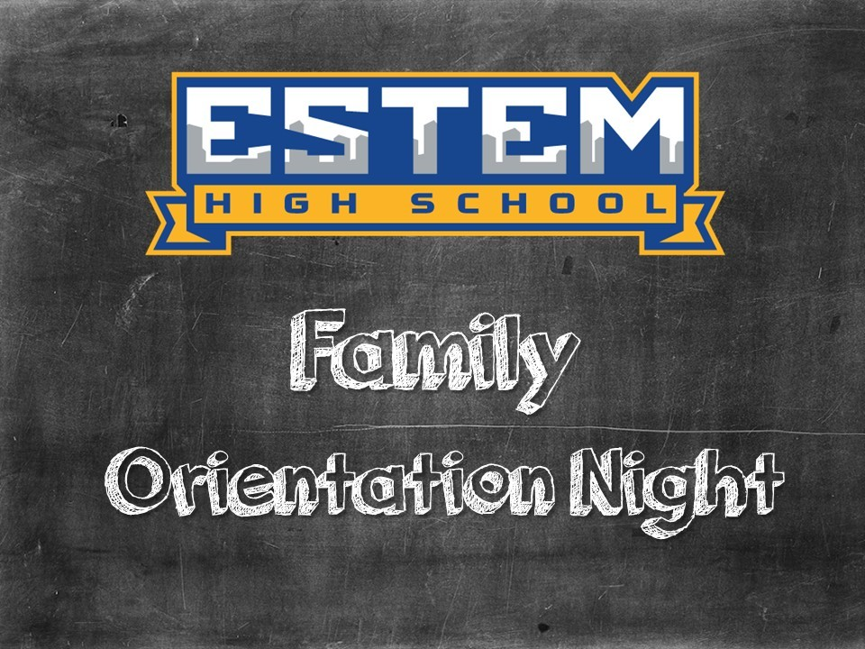 eStem High to Host Family Orientation Night